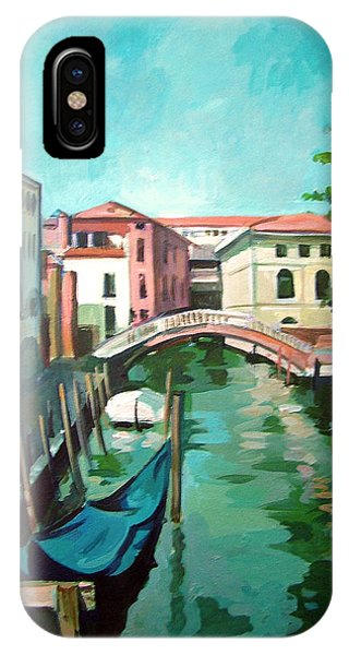 Venetian Channel 2 Phone Case by Filip Mihail