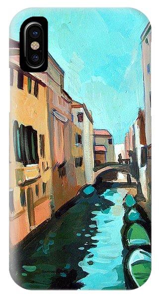 Venetian Channel Phone Case by Filip Mihail