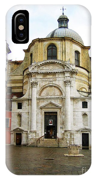 Venetian Church Phone Case by John Rizzuto