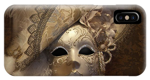 Venetian Face Mask F IPhone Case