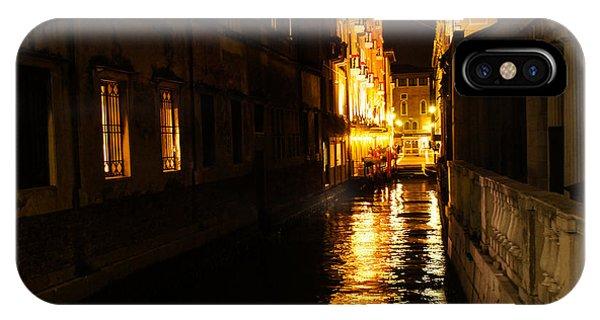 Venetian Golden Glow IPhone Case