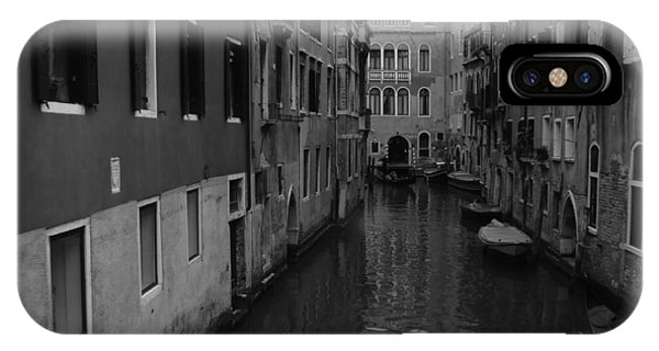 Venetian Monochrome Bw IPhone Case
