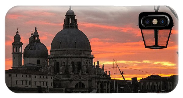 IPhone Case featuring the photograph Venetian Sunset by Joe Winkler
