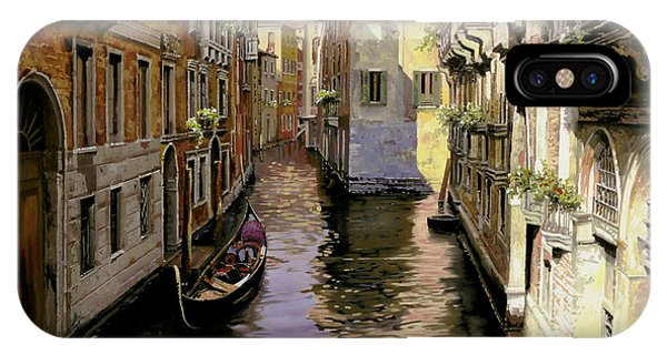 IPhone Case featuring the painting Venezia Chiara by Guido Borelli