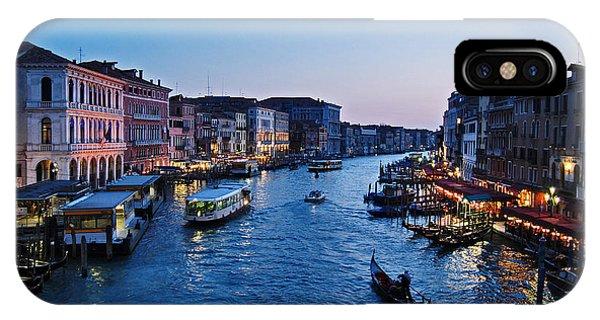 Venezia - Il Gran Canale IPhone Case