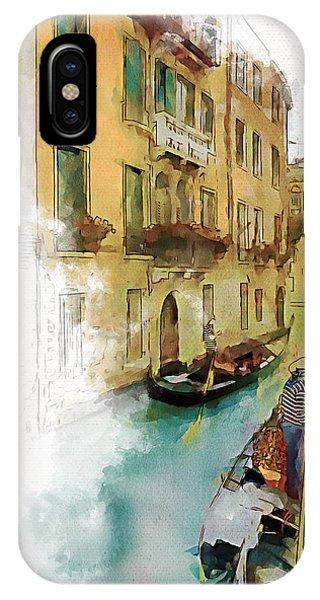 Venice 1 IPhone Case