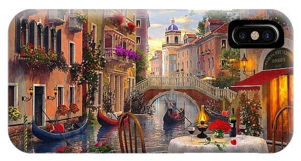 Venice iPhone Case - Venice Al Fresco by MGL Meiklejohn Graphics Licensing