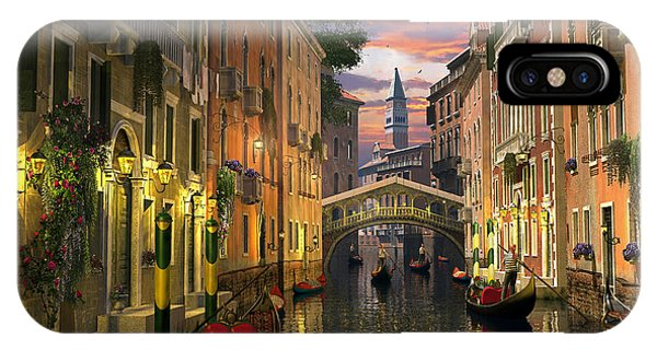 Venice At Dusk IPhone Case