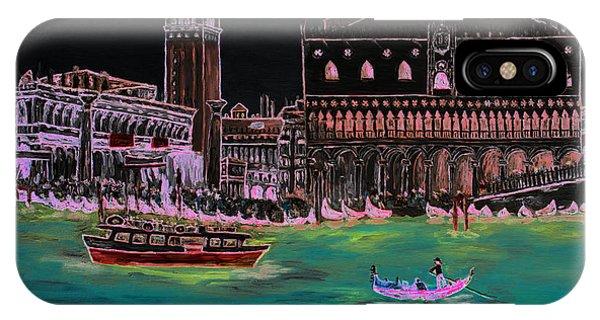 Venice At Night IPhone Case