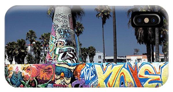 Venice Beach iPhone Case - Venice Beach Graffiti by John Rizzuto