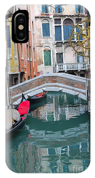 Venice Canal And Buildings IPhone Case