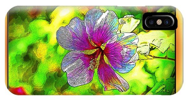 Venice Flower - Framed IPhone Case