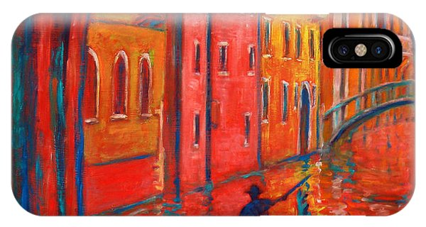 Venice Impression Viii IPhone Case