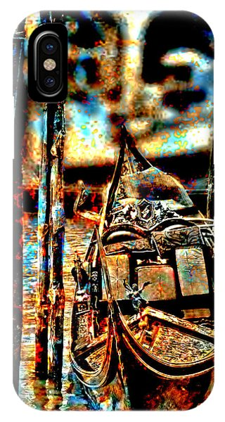Venice In Grunge 3 IPhone Case