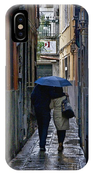 Venice In The Rain IPhone Case