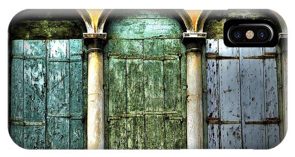 Venice Italy 3 Doors IPhone Case