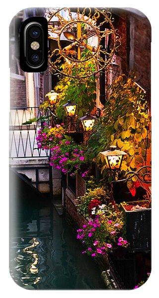 Venice Italy Tratoria IPhone Case