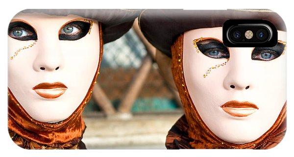 Venice Masks - Carnival. IPhone Case
