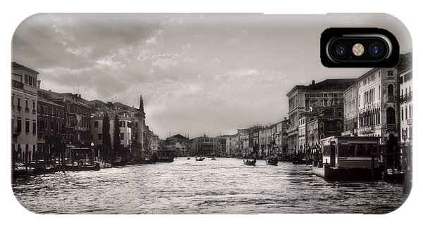 City Scape iPhone Case - Venice by Omhaus Harrizi