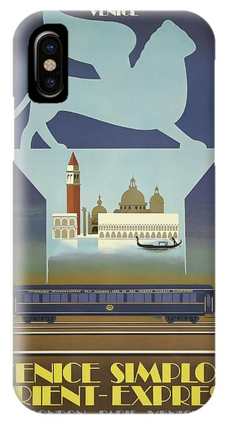 Venice Orient Express IPhone Case