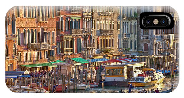 Venice Palazzi At Sundown IPhone Case