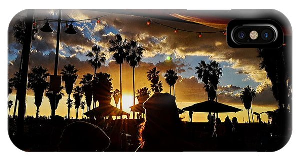 IPhone Case featuring the digital art Venice People by Visual Artist Frank Bonilla