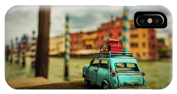 Venice iPhone Case - Venice Stopped by Luis Francisco Partida