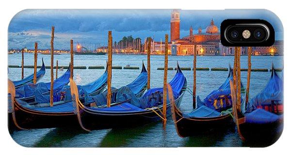 Venice View To San Giorgio Maggiore IPhone Case