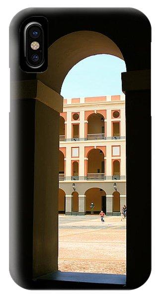 Ventana De Arco IPhone Case