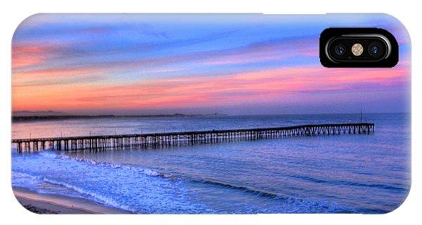 Ventura Beach Pier Phone Case by Walt Miller