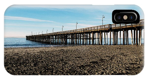 Ventura Beach Pier IPhone Case