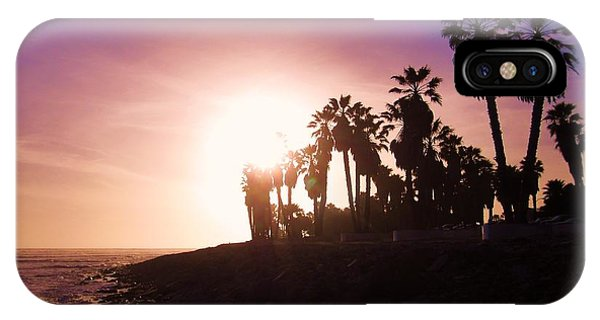 Ventura Beach Sunset IPhone Case