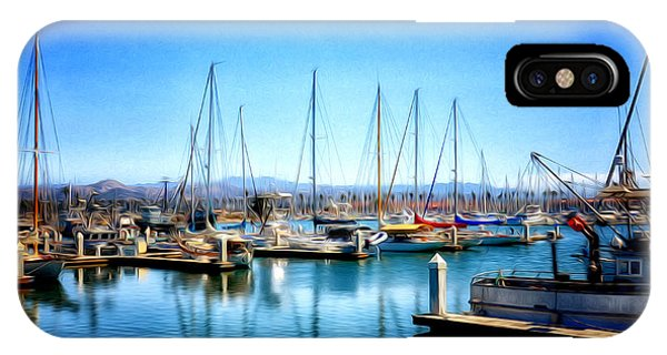 Ventura Harbor IPhone Case