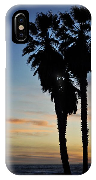 Ventura Palm Sunset IPhone Case