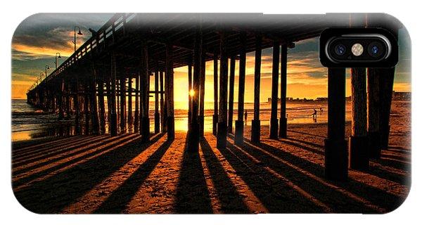 Ventura Pier At Sunset IPhone Case