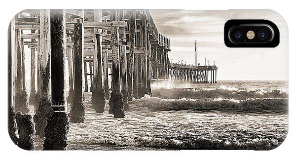 Ventura Pier Study I IPhone Case