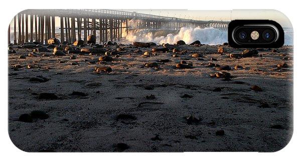 Ventura Pier Sturm Wave IPhone Case