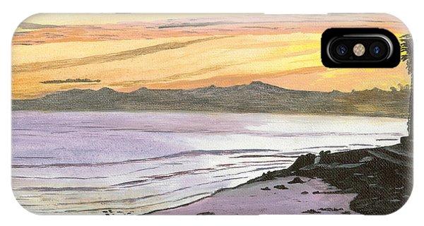 Ventura Point At Sunset IPhone Case