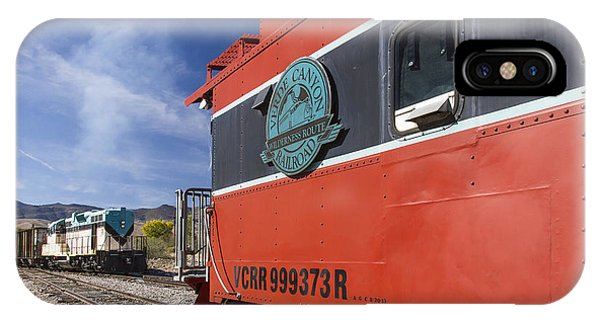 Verde Canyon Railway Caboose IPhone Case