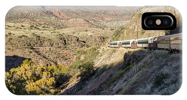 Verde Canyon Railway Landscape 2 IPhone Case