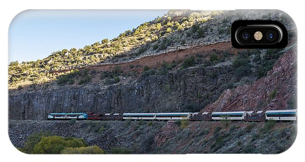 Verde Canyon Railway Landscape 1 IPhone Case
