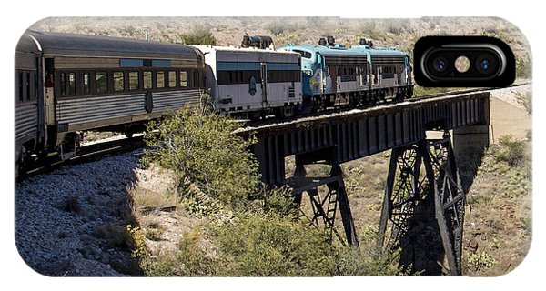 Verde Canyon Railway On Trestle IPhone Case