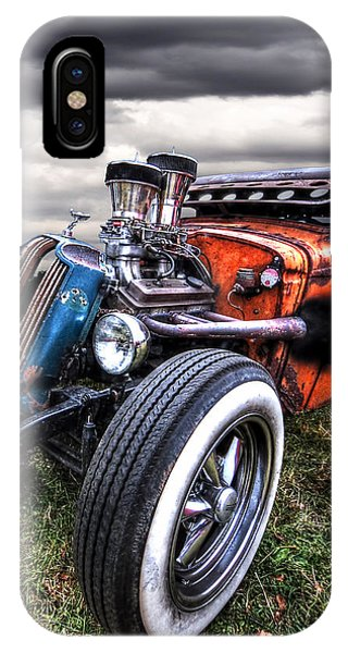 Vermin's Diner Rat Rod Front IPhone Case