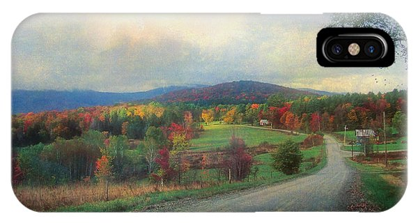 Vermont Afternoon IPhone Case