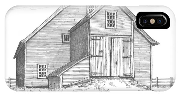 Vermont Barn IPhone Case