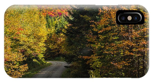 Vermont Country Road IPhone Case
