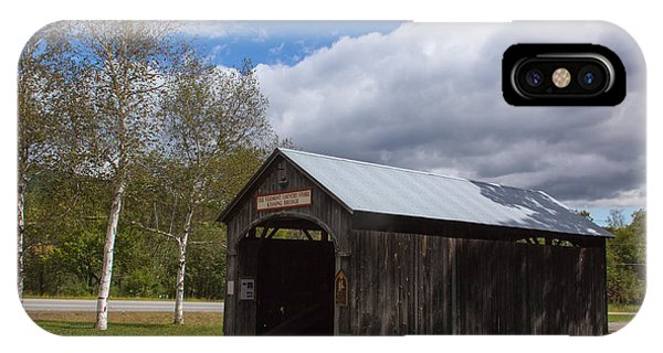 Vermont Country Store Covered Bridge IPhone Case