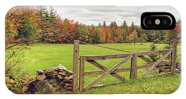 Vermont Countryside IPhone Case