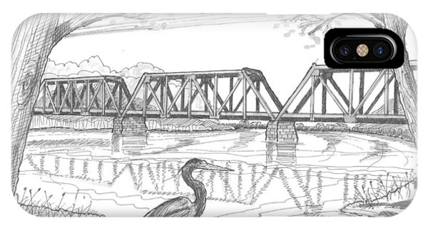 Vermont Railroad On Connecticut River IPhone Case