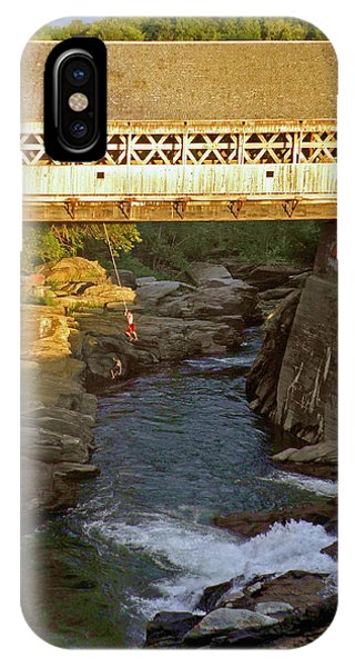 Vermont Swimming Hole IPhone Case